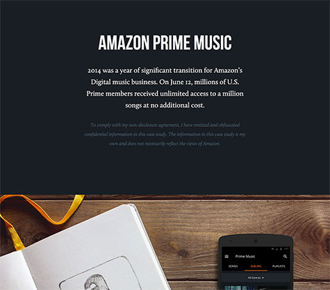 Just the very top of Simon Pan's great portfolio page for Amazon Prime Music