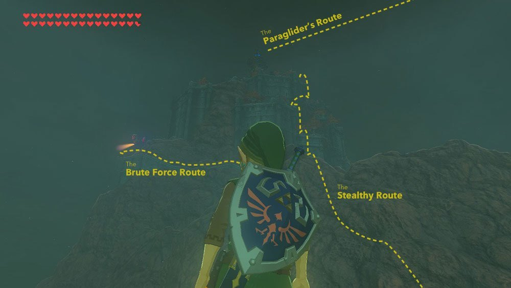 For every obvious route, Link could take the path less traveled.