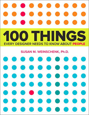 Cover of 100 Things by Susan Weinschenk