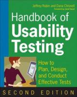 Handbook of Usability Testing by Jeffrey Rubin & Dana Chisnell