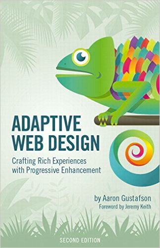 Cover of Adaptive Web Design by Aaron Gustafson