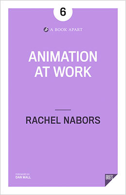 Cover of Animation at Work by Rachel Nabors