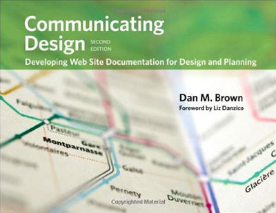 Cover of Communicating Design by Dan M. Brown