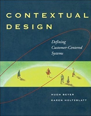Cover of Contextual Design by Hugh Beyer & Karen Holtzblatt