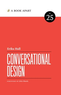 Cover of Conversational Design by Erika Hall