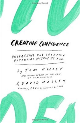 Cover of Creative Confidence by Tom Kelley & David Kelley