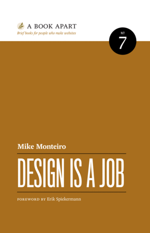 Cover of Design is a Job by Mike Monteiro