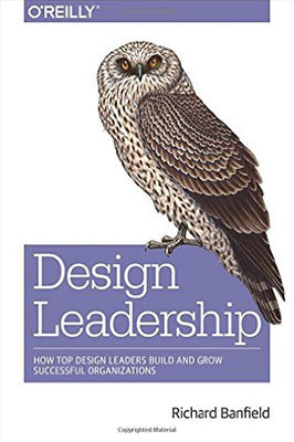 Cover of Design Leadership by Richard Banfield