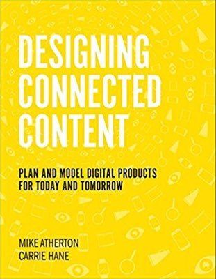 Cover of Designing Connected Content by Carrie Hane & Mike Atherton