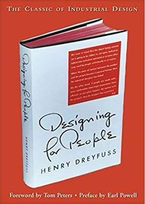 Cover of Designing for People by Henry Dreyfuss