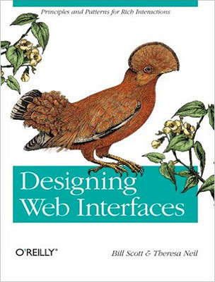 Cover of Designing Web Interfaces by Bill Scott & Theresa Neil