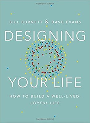 Cover of Designing Your Life by Bill Burnett & Dave Evans