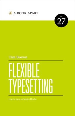 Cover of Flexible Typesetting by Tim Brown