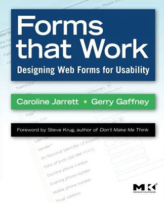 Cover of Forms that Work by Caroline Jarrett & Gerry Gaffney