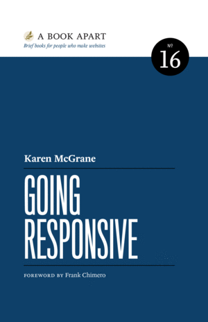 Cover of Going Responsive by Karen McGrane