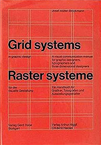 Cover of Grid Systems in Graphic Design by Josef Müller-Brockmann