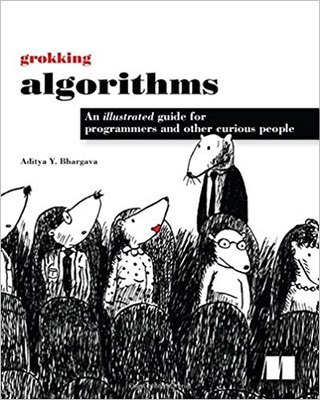 Cover of Grokking Algorithms by Aditya Bhargava