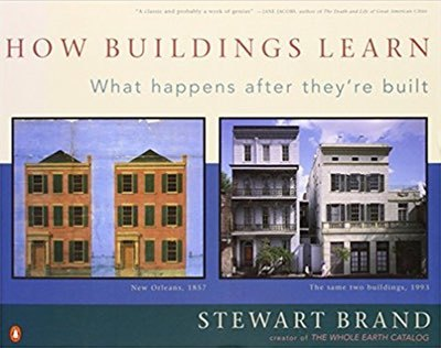 Cover of How Buildings Learn by Stewart Brand