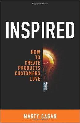 Cover of Inspired by Marty Cagan
