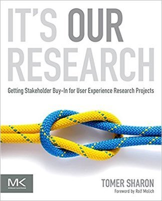 Cover of It's Our Research by Tomer Sharon