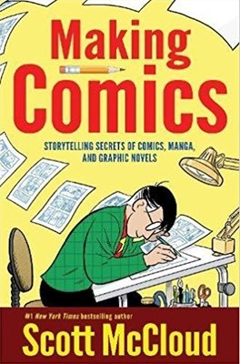 Cover of Making Comics by Scott McCloud