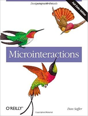 Cover of Microinteractions by Dan Saffer