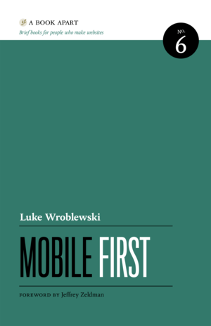 Cover of Mobile First by Luke Wroblewski