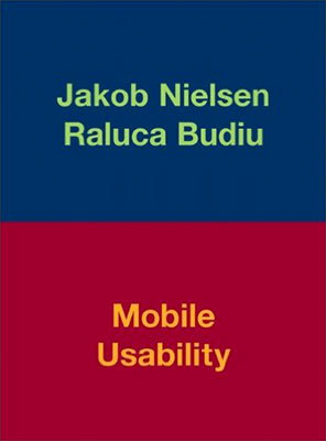 Cover of Mobile Usability by Jakob Nielsen & Raluca Budiu