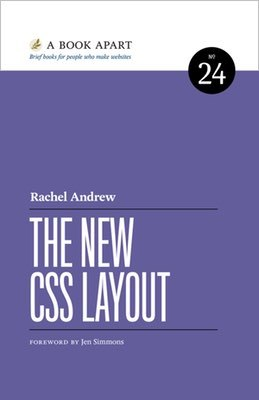 Cover of The New CSS Layout by Rachel Andrew
