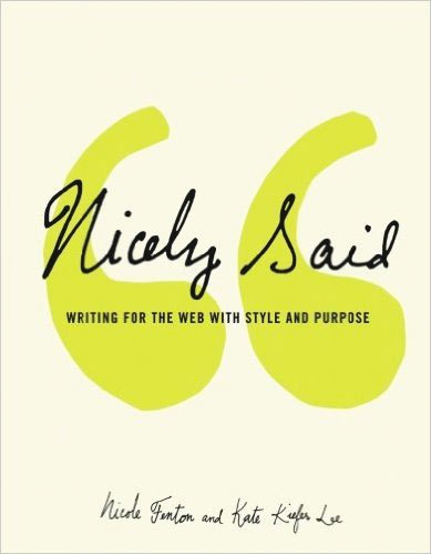 Cover of Nicely Said by Nicole Fenton & Kate Kiefer Lee