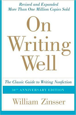 Cover of On Writing Well by William Zinsser