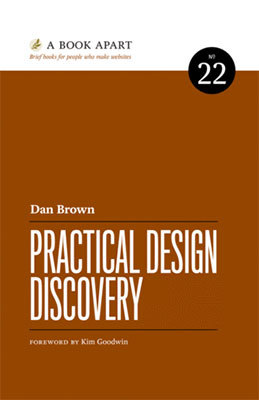 Cover of Practical Design Discovery by Dan Brown