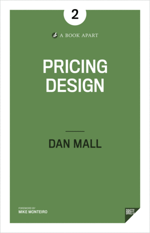 Cover of Pricing Design by Dan Mall