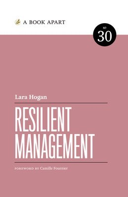Cover of Resilient Management by Lara Hogan