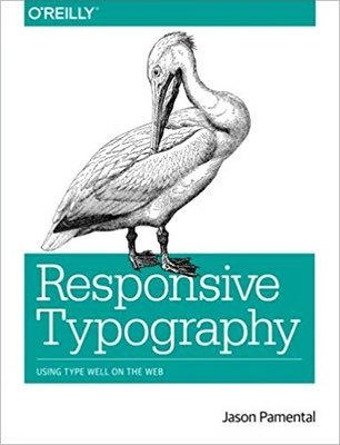 Cover of Responsive Typography by Jason Pamental