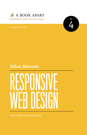 Cover of Responsive Web Design by Ethan Marcotte