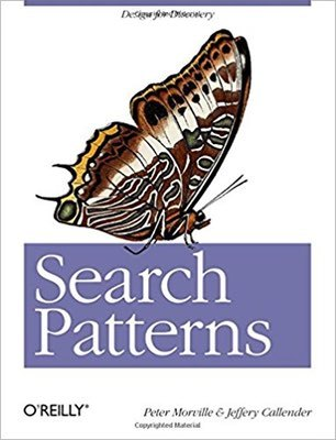 Cover of Search Patterns by Peter Morville & Jeffery Callender