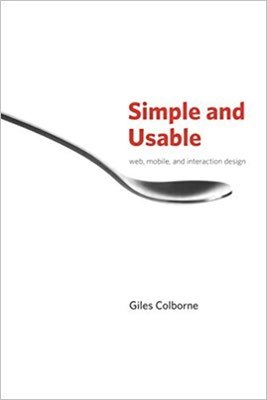 Cover of Simple and Usable by Giles Colborne