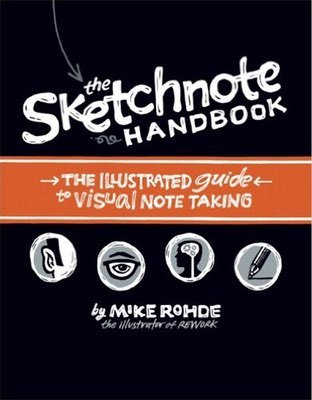 Cover of The Sketchnote Handbook by Mike Rohde
