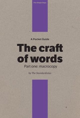 Cover of The Craft of Words by The Standardistas