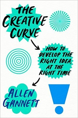 Cover of The Creative Curve by Allen Gannett