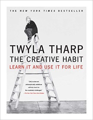 Cover of The Creative Habit by Twyla Tharp