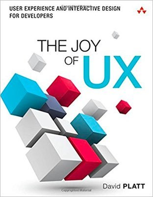 Cover of The Joy of UX by David Platt