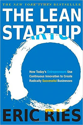 Cover of The Lean Startup by Eric Ries