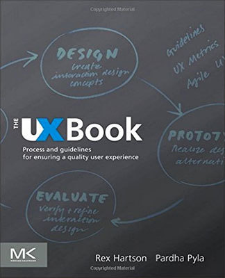 Cover of The UX Book by Rex Hartson & Pardha Pyla