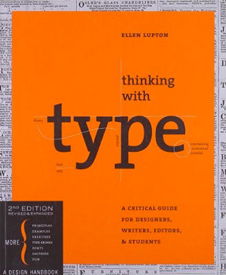 Cover of Thinking with Type by Ellen Lupton