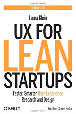 Cover of UX for Lean Startups by Laura Klein