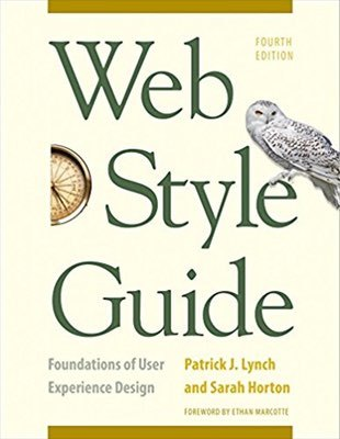 Cover of Web Style Guide by Patrick J. Lynch & Sarah Horton