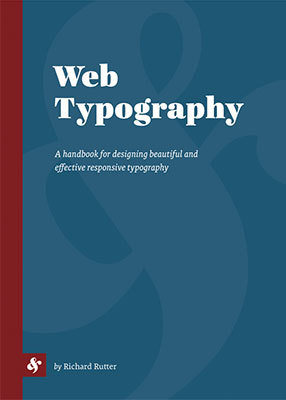 Cover of Web Typography by Richard Rutter