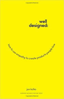 Cover of Well-Designed by Jon Kolko
